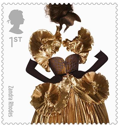 Big Picture, fashion stamps, Zandra Rhodes