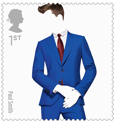 Big Picture, fashion stamps, Paul Smith