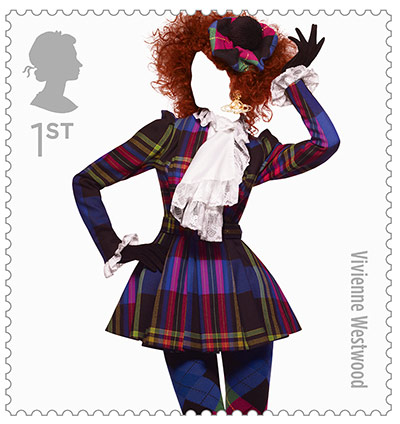 Big Picture, fashion stamps, Vivienne Westwood