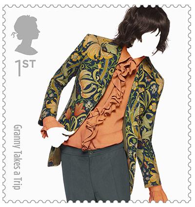 Big Picture, fashion stamps, granny take a trip