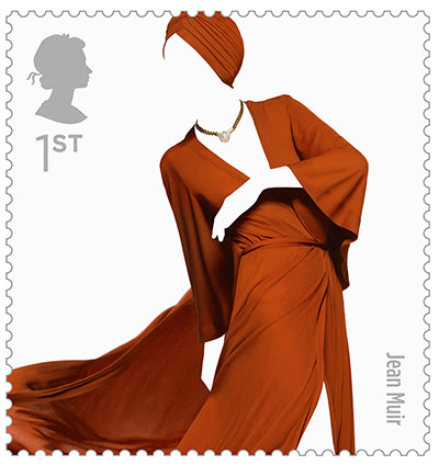 Big Picture, fashion stamps, Jean Muir