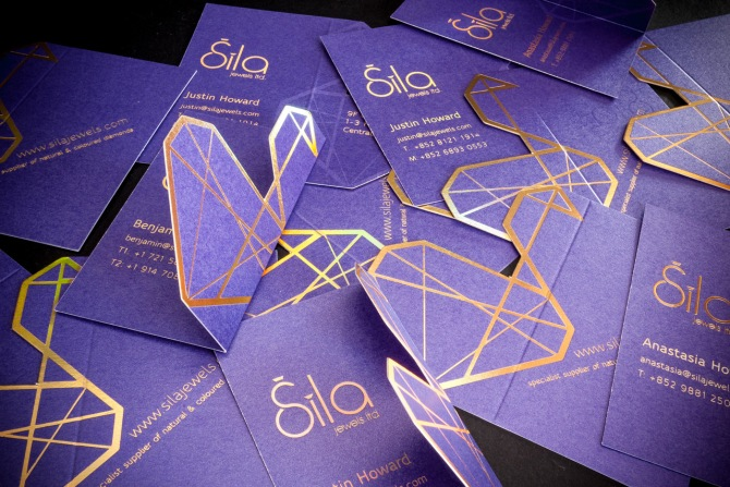 Logo Design For Sila Jewellery